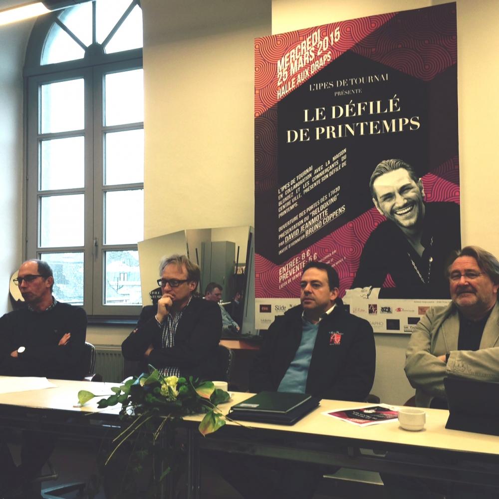 L'IPES Tournai prépare son défilé de printemps !