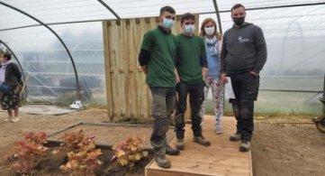 L'IPES Tournai rafle la 3è place du concours du Meilleur Jeune Jardinier 2021