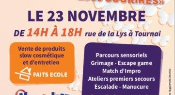 Créa for Life :  L'IESPP Tournai organise un événement récréatif au profit de Viva for Life