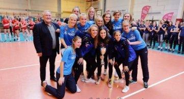 Le Tournoi international de Volley-ball féminin de Frasnes fête ses 20 ans !